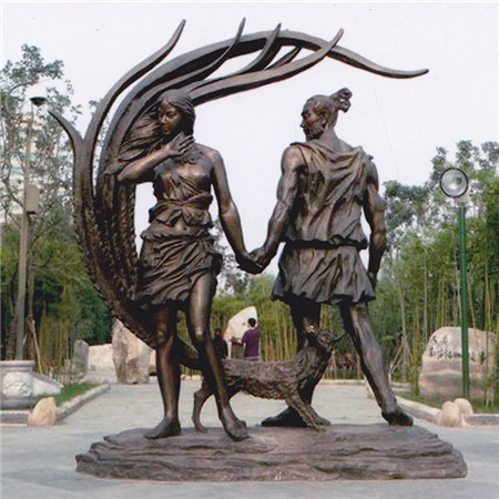 园林铸铜雕塑
