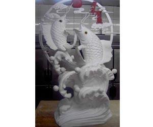 节日泡沫雕塑