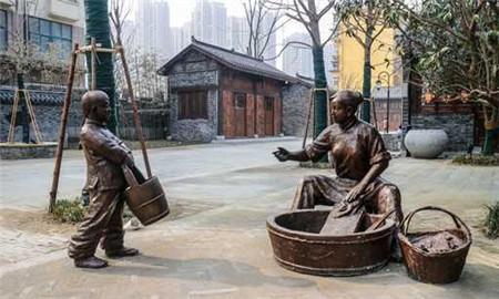 商业街景观雕塑
