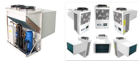 整体式冷库制冷机