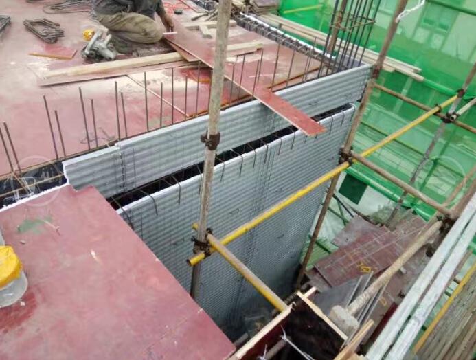 EPS钢丝网架在建工程