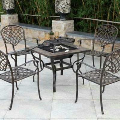 庭院铸铝桌椅