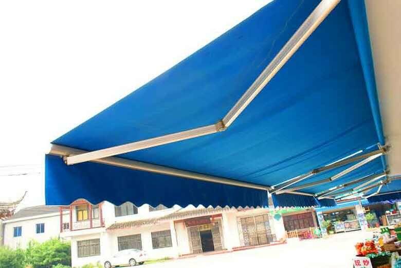 伸缩遮阳雨棚