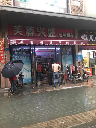 武汉门头雨棚