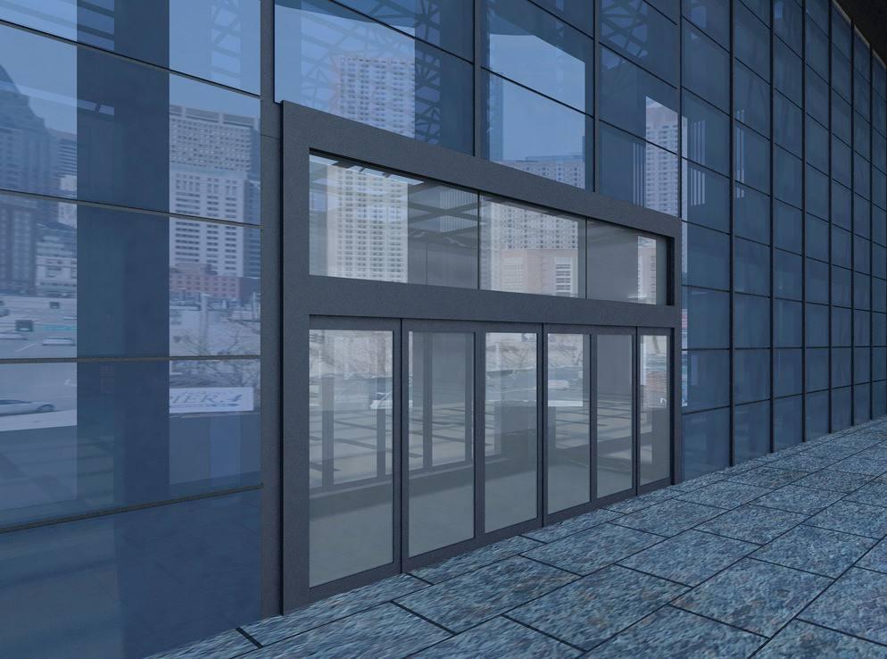 办公楼玻璃幕墙