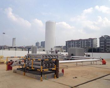 【图文】合肥LNG气化站介绍安全放散气体加热器_安徽LNG气化站有什么不同