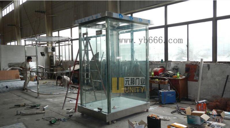 贵州玻璃岗亭