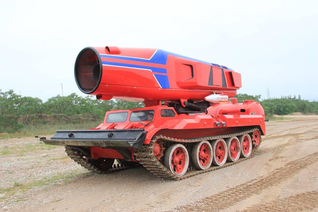 履带式窝喷消防车