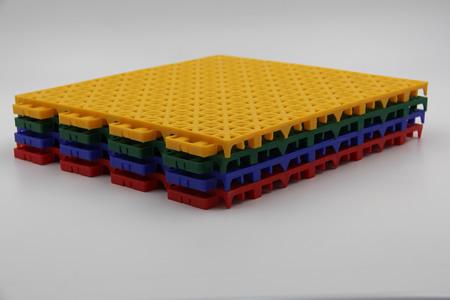 塑胶运动地板