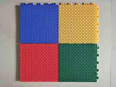 悬浮式塑胶地板