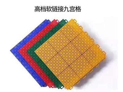 拼装式悬浮运动地板