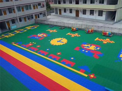 幼儿园专用拼装地板
