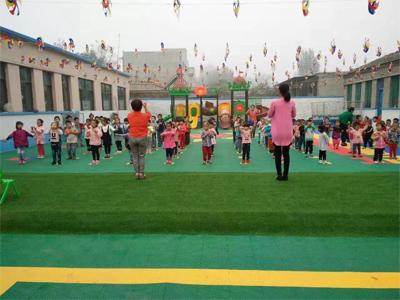 学校运动场悬浮地板