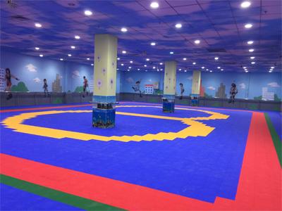运动场地悬浮拼装地板