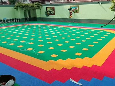 石家庄幼儿园地板安装