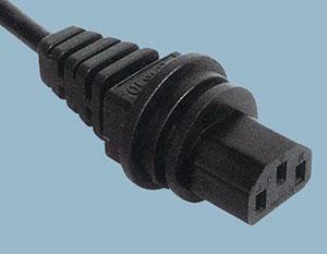 三芯品字尾电源线