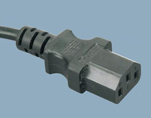品字尾连接器