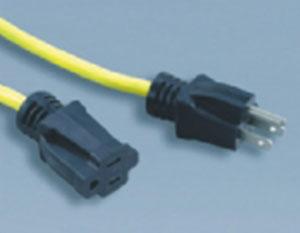 美式电源线插头