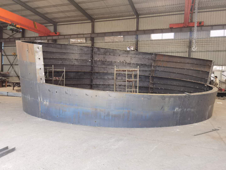 圆柱钢模板