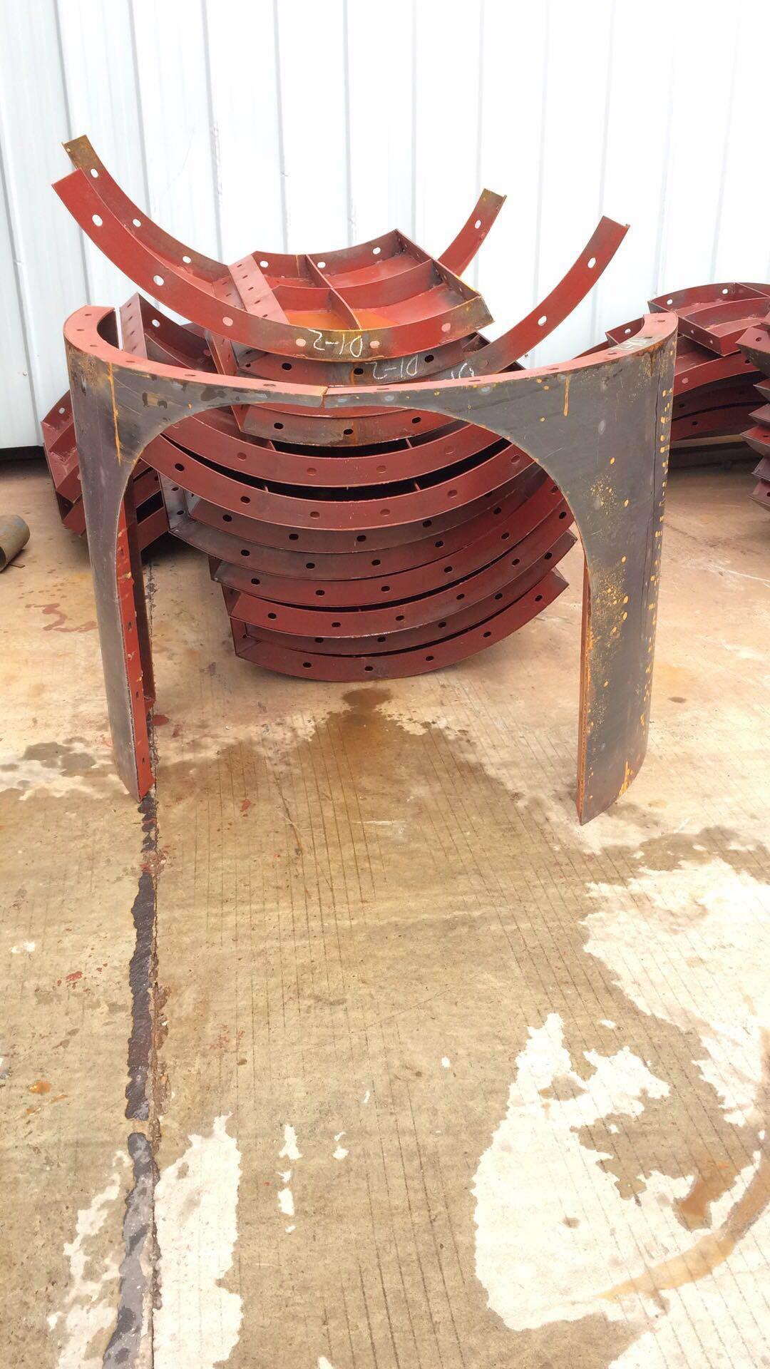沉水井钢模板