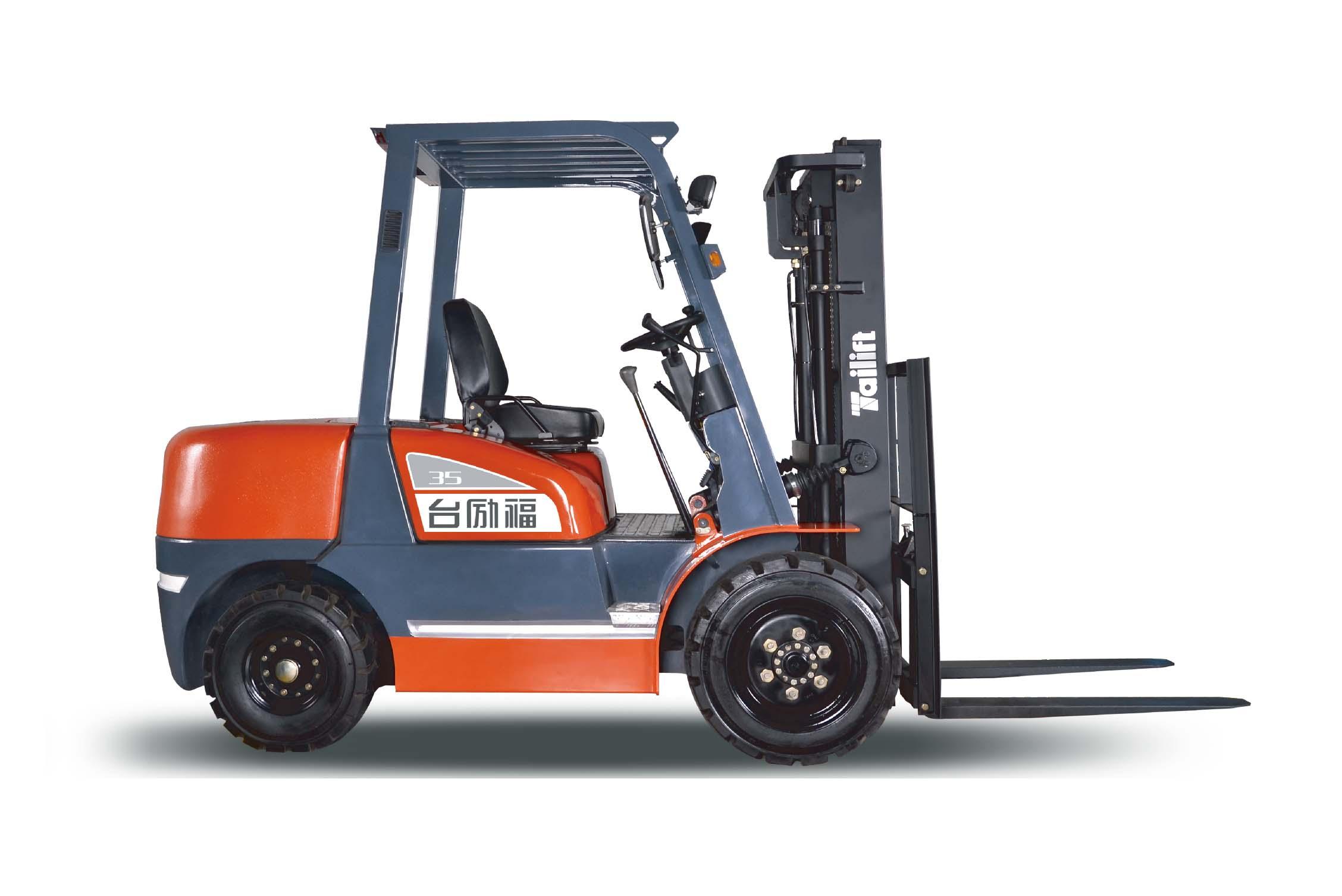 台励福叉车3.5吨内燃平衡重叉车