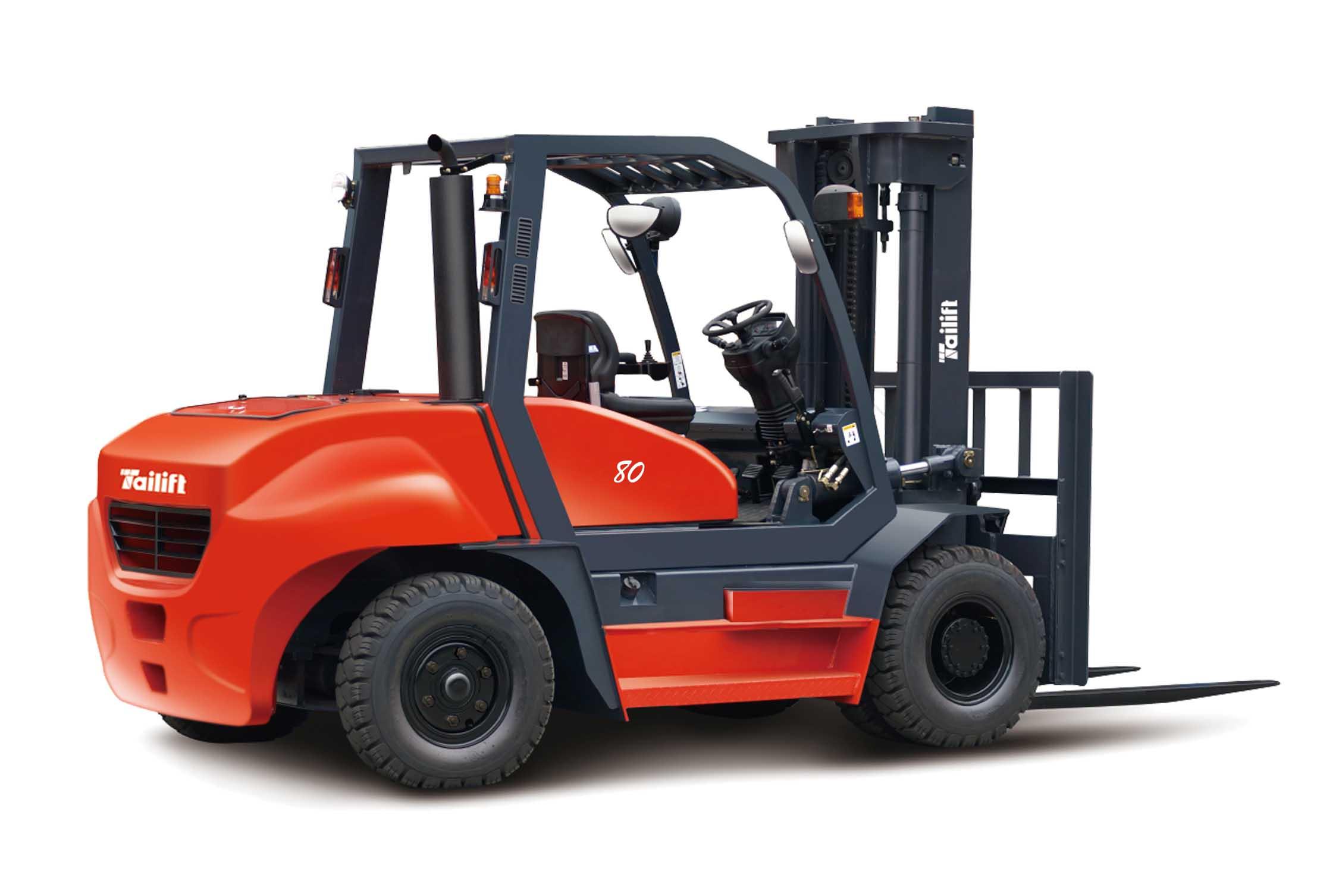 台励福叉车8吨内燃平衡重叉车