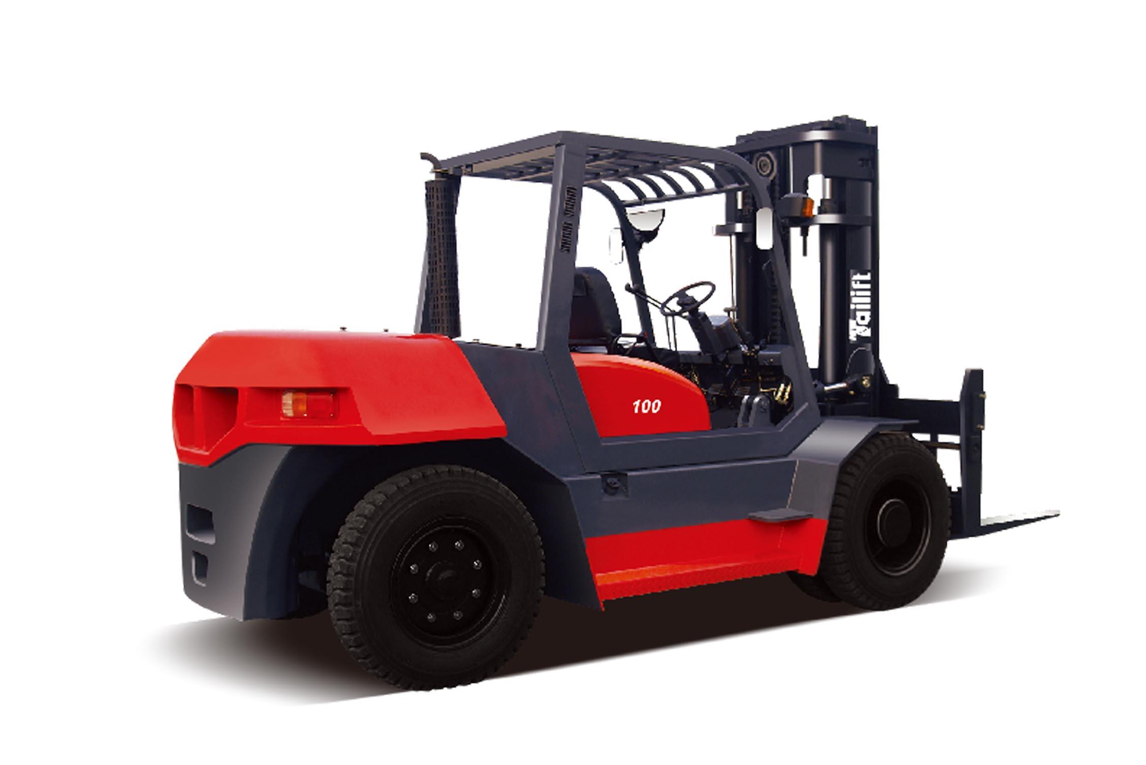 台励福叉车10吨内燃平衡重叉车