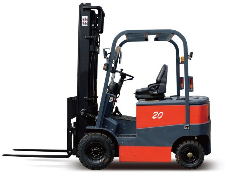 台励福叉车2吨电动平衡重叉车