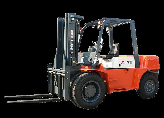 合力叉车7.5吨柴油平衡重式叉车石材车