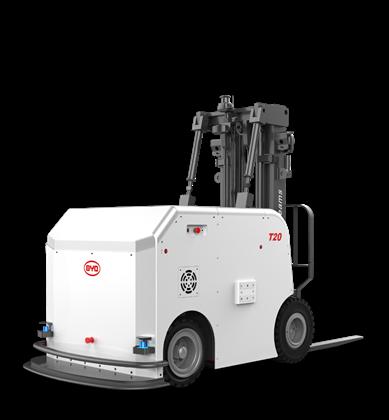 比亚迪锂电平衡重式搬运机器人