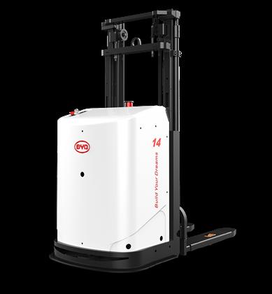 比亚迪锂电堆垛/堆高搬运机器人