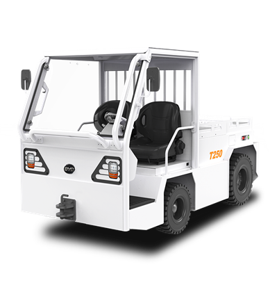 比亚迪锂电牵引车25吨座驾式平头牵引车