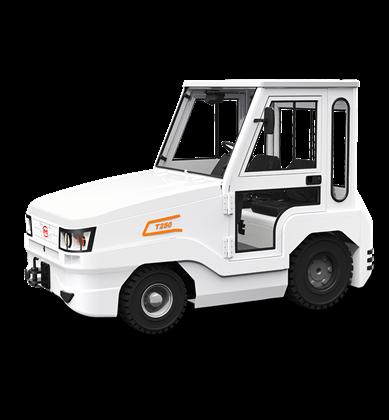 比亚迪锂电牵引车25吨座驾式长头牵引车
