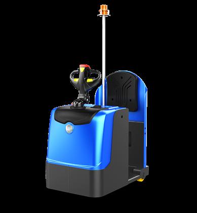 比亚迪锂电牵引车3吨站驾式牵引车