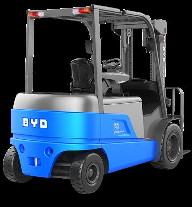 比亚迪锂电叉车4吨5吨平衡重式叉车
