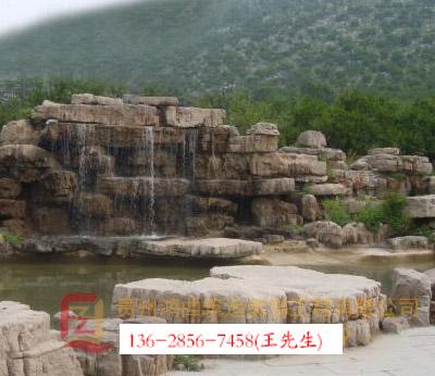 贵州园林假山