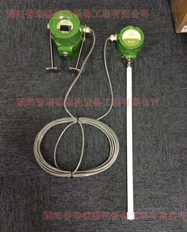 火炬气插入式热式质量流量计
