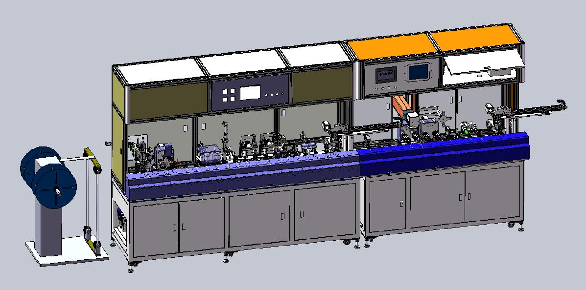 自动扭剪编织割铝箔机