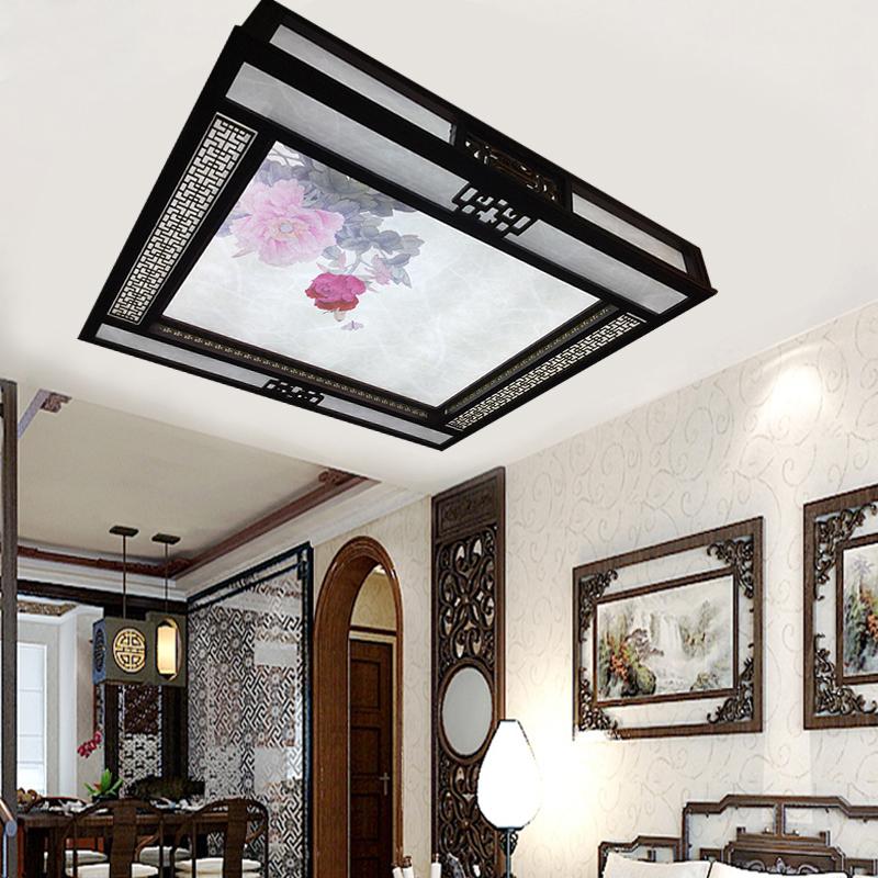 橡木LED吸頂燈