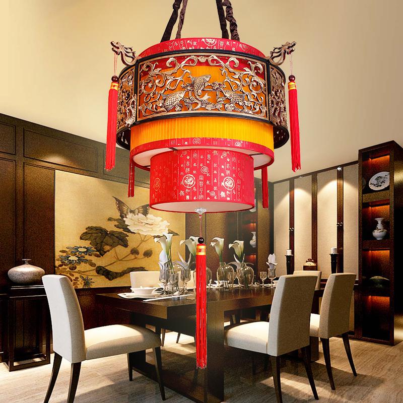 别墅中式灯