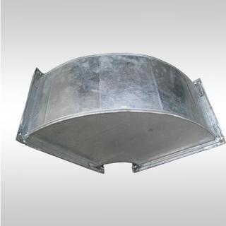 西安镀锌钢板弯头风管