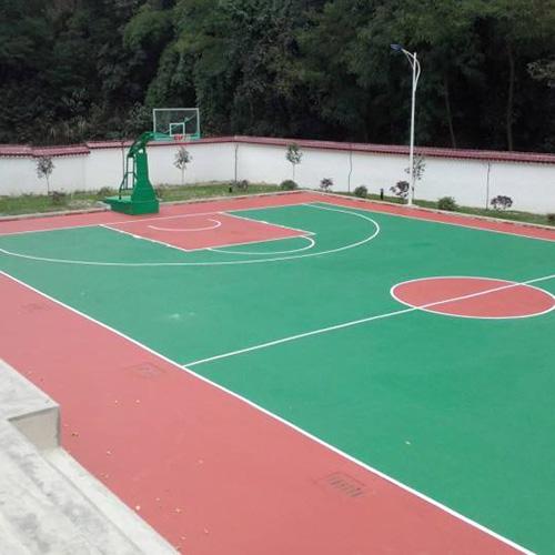 贵州硅PU篮球场