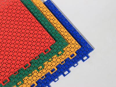 【专家】悬浮式拼装地板性能解读 营造了多彩缤纷的动感场地效果
