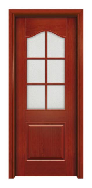 龙里实木玻璃门