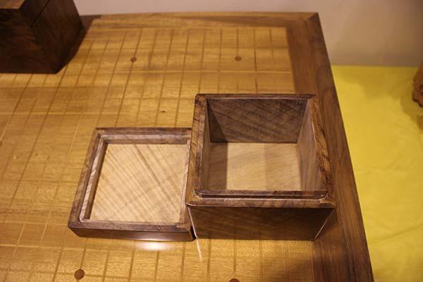 金丝楠木首饰盒