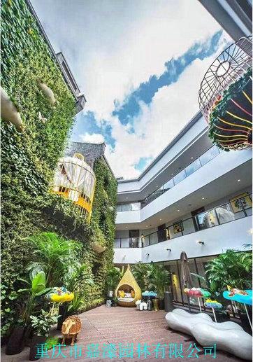 景观植物墙规划设计