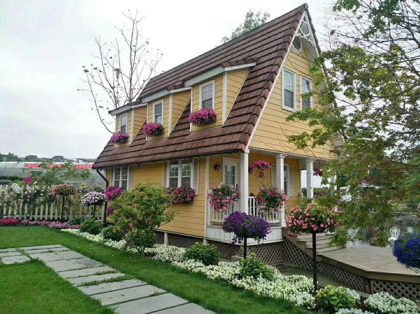 别墅花园设计施工