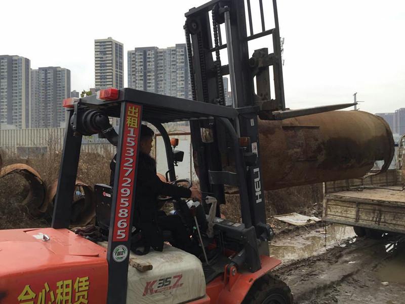 华中红木家具大小叉车出租