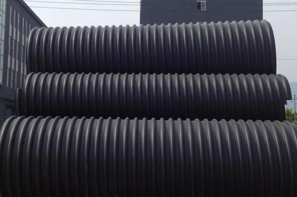 遵义钢带增强波纹管