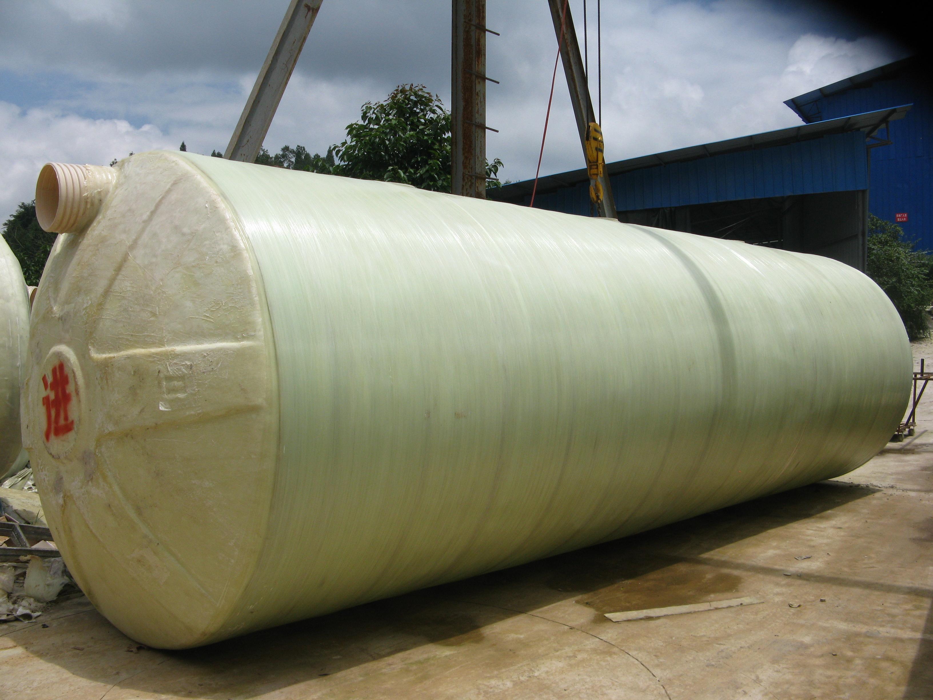 玻璃钢污水处理设备安装